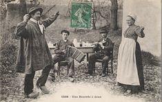 Borrèia in Auvernia, early 20th century.