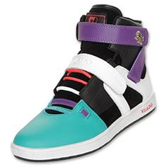 The Vlado Phalanx women's casual shoes are perfect for complimenting your skinny jeans. Rock a high top fashion shoe made with a multicolored synthetic upper with midfoot and ankle strap for a customizable fit and a great look. Feel good about your footwear with Vlado style.