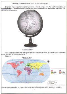 Resultado de imagem para representações da terra 5o ano