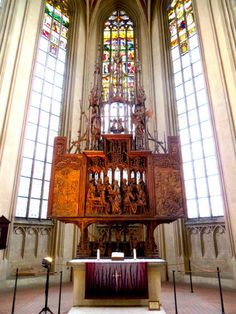 Altar of the Holy Blood Saint James (St. Medieval Town, Medieval Art, Joseph Of Arimathea, Agony In The Garden, Rothenburg Ob Der Tauber, The Cloisters, Religious Images, Last Supper, Holi
