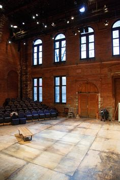 large window stage design | stripped down set for this berkeley street downstairs theatre designed ...