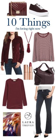 Burgundy Fall Fashio