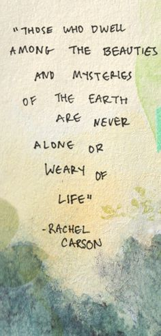 rachel carson quotes - Google Search