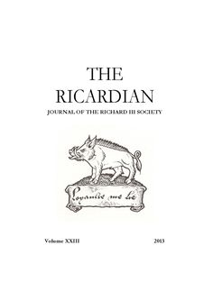 Ricardian 2013