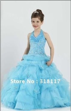 Prom dress for short girl 9 year
