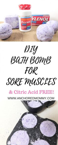 #ad DIY Bath Bombs for Sore Muscles & a coupon for TYLENOL®️️️️ PM at Walgreens #ForBetterTomorrows #BetterTomorrows #FallBack #CollectiveBias |DIY Bath Bombs | Bath Bombs | Bath Bombs for Sore Muscles | Sore Muscles | Achy Muscles | Post Workout | Better Sleep Tips |