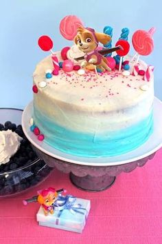 Image Result For Paw Patrol Cake Decorations Birthday Girl