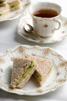 Get Creative With Your Fillings and try new ways to add a kick to your tea party sandwiches.