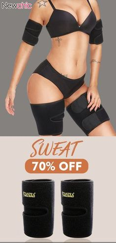 88bf86f1e4fde Workout Sweat Neoprene Adjustable Slimming Arm Thigh Trainer  shapewear   workout  slimming  trainer  neoprene