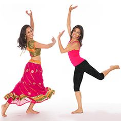 Bollywood style dance exercise...would have to tone it done for me but others would have a ball