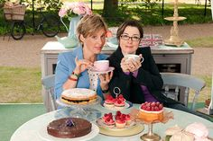Great British Bake-Off ... one of the best TV shows ... ever.