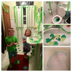 St. Patrick's Day Pranks Cheap & easy leprechaun tricks for small children.