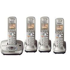 Exclusive Panasonic KX-TG4034N KX-TG4...