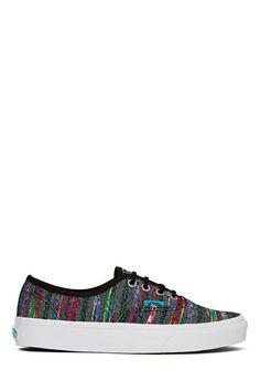 Vans Authentic Sneaker - Black Multi Weave