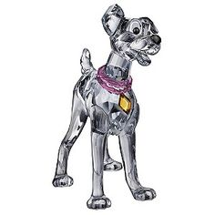Swarovski Disney figurine of Tramp from love story Lady & The Tramp, complete with pink collar. Fans of the loveable rogue will display him proudly.