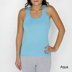 American Apparel Women's Ribbed Beater Tank