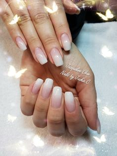 By hand Painted with white gel color. Check out my page on Instagram@ nailsjchan or  www.nailsbyjackiec.com