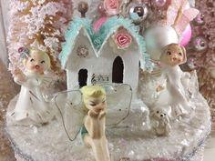 Ms Bingles Vintage Christmas: *~* Sweetie Pie Angel & Fairy Christmas Tree Boxes ...