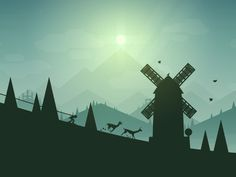 Excited to officially announce what I've been working on for the past year! Introducing Alto's Adventure - coming soon to iOS!  www.altosadventure.com