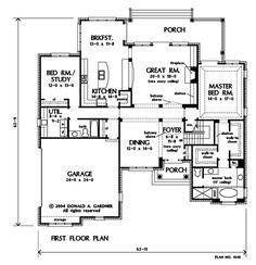Floorplan The Godfrey House Plan #1003 | Random house things ...