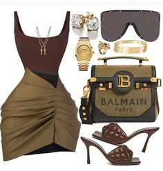 Boujee Outfits, Cute Swag Outfits, Dope Outfits, Polyvore Outfits, Classy Outfits, Stylish Outfits, Fashion Outfits, Womens Fashion, Black Girl Fashion