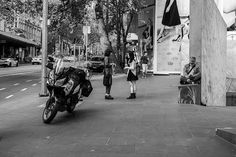 Seen by the Man with the Walking Stick Melbourne Australia  October 2014
