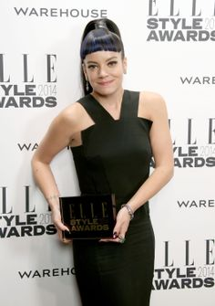 UK Female Recording Artist: Lily Allen at the ELLE Style Awards 2014
