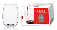 Govino DS Wine Glass – gift box Ideal for wine and other beverages Capacity: 16 oz Height: Greek Gifts, Champagne Flutes, Monogram Fonts, Inspirational Gifts, Things To Buy, Dishwasher, Action, Buy Buy