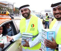 موظفو شركة بترول الإمارات الوطنية يوزعون علب الإفطار على السائقين #رمضان #يلا_رمضان #Ramdan #رمضان_كريم #ArabsTurbo #تيربو_العرب #سيارات #car