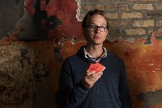 ben sollee- eating water melon......why not?