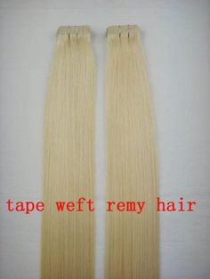 """40 Pieces 22"""" Seamless Remy Tape in 100 Grams Hair Extensions #613 Bleach Blonde by MyLuxury1st. $129.00. SHIPS IN 6-10 BUSINESS DAYS; IF YOU CAN NOT WAIT, DO NOT ORDER!  CONTACT MYLUXURY1ST HAIR EXTENSIONS IF YOU HAVE ANY QUESTIONS!"""