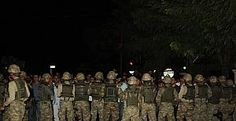 Siirt'te darbeci komutan subayları tehdit etmiş