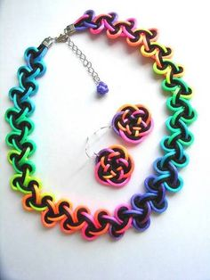 neon Chinese knots -- would Megs wear this?