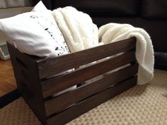 The Versatile Madison Crate Adds Storage And Charm To Your Home. Store Your  Blankets, Pillows, Or Magazines In This Classic Piece.