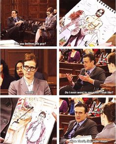 How I met your mother Marshall in court