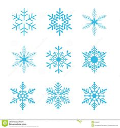 Wallpapers , Images & Photos pour flocon de neige dessin bleu