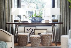 Check Out the Amazing New Living Room of a Major Blogger via @domainehome