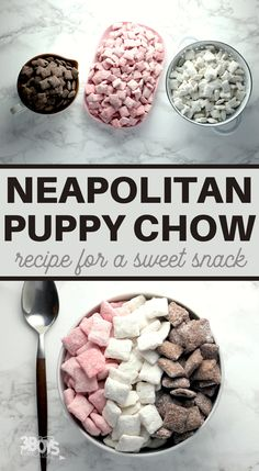 Chex Mix Recipes, Yummy Recipes, Recipies, Yummy Food, Best Puppy Chow Recipe, Puppy Chow Recipes, Dessert Drinks, Dessert Ideas, Puppy Chow Ingredients