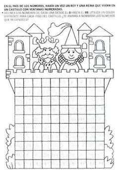 "Képtalálat a következőre: ""castillo de numeros del 0 al 99"""