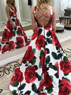 Unique Printed A-Line Prom Dresses, Charming Sleeveless Prom Dresses Sleeveless Prom Dresses, Unique Prom Dresses, A-Line Prom Dresses, Prom Dress Prom Dresses 2019 Floral Prom Dresses, Unique Prom Dresses, A Line Prom Dresses, Prom Party Dresses, Formal Evening Dresses, Homecoming Dresses, Sexy Dresses, Beautiful Dresses, Dress Prom