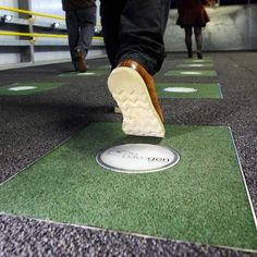 Pavegen Generates Power When You Walk [The Future of Energy: http://futuristicnews.com/category/future-energy/]