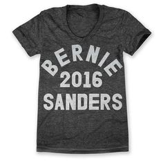 Bernie Sanders For President 2016: Womens by printliberation