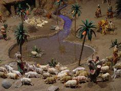 Shepherd and flock Christmas Nativity Scene, Christmas Makes, Christmas Villages, Christmas Carol, Rustic Christmas, Christmas Diy, Christmas Decorations, Christmas Ornaments, Nativity Scenes
