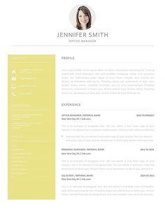 35 best elegant resume templates images in 2018 resume cover