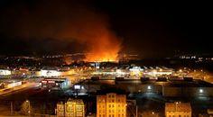 Idzie #wiosna, płoną #trawy. W #Wałbrzychu ogień pochłonął 5 hektarów terenu. Więcej: www.regionfakty.pl