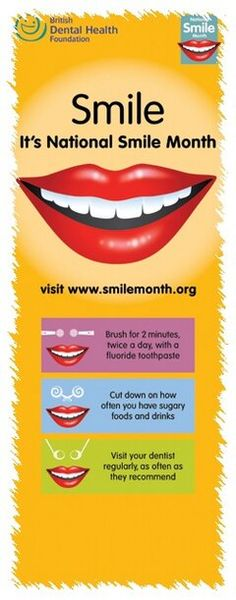 Nation Smile Month