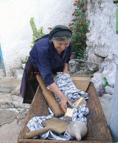 Woman washing clothes with soap made from olive oil (green soap). Stealing Beauty, Green Soap, Under The Tuscan Sun, Cultural Diversity, Athens Greece, Crete Greece, Natural World, Washing Clothes, Funny Photos
