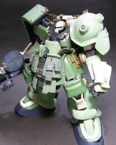 Toriyama's Custom Zaku - Custom Build + Diorama - Gundam Kits Collection News and Reviews