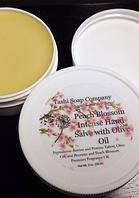 Our intense hand salve available in a variety of scents, perfect for severely dry cracked hands and feet!