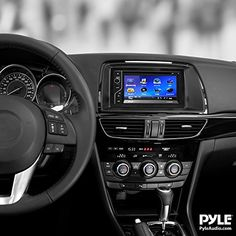 "Pyle PLDN63BT 6.5"" Double DIN Bluetooth Touch-Screen Car Radio - In Dash Stereo Head Unit Featuring Bluetooth Streaming, CD/DVD Player, USB, SD, Aux Input and Built in Microphone for Hands-Free Calling"